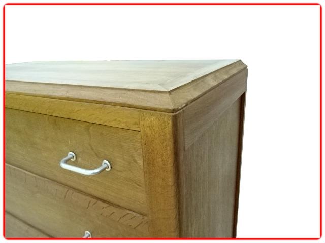 Commode vintage occasion bois massif rénovée