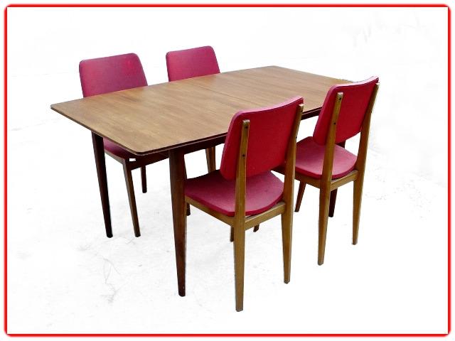 Table à manger McIntosh teck vintage 1960