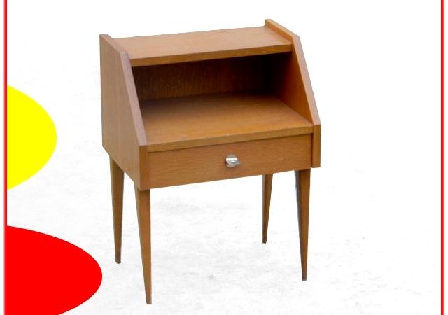 table de chevet vintage 1960.