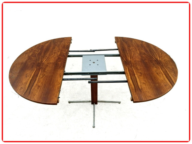 table extensible J. Zalszupin scandinave 1950