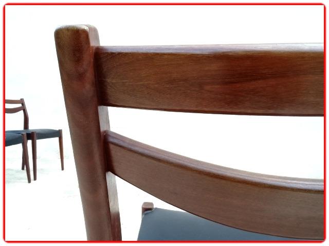 chaises vintage palissandre