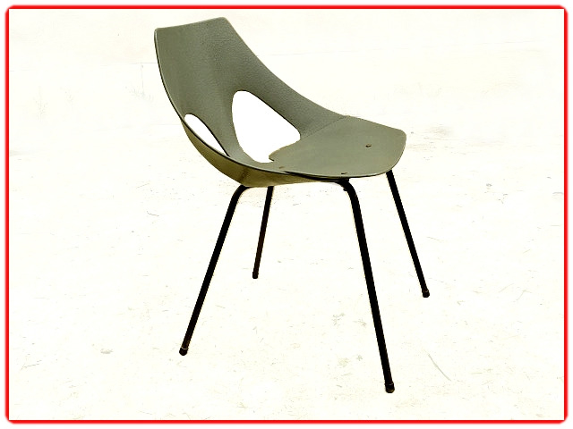 chaise design Carl Jacobs 1950 Airborne