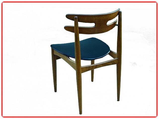 chaises Johannes Andersen modèle 178 teck