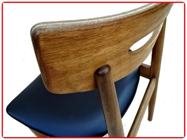 chaises danoises Samcom scandinaves