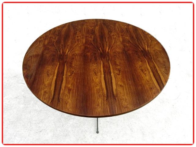 table Jorge Zalszupin en palissandre