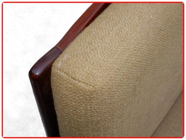 fauteuil en teck scandinave design 1950