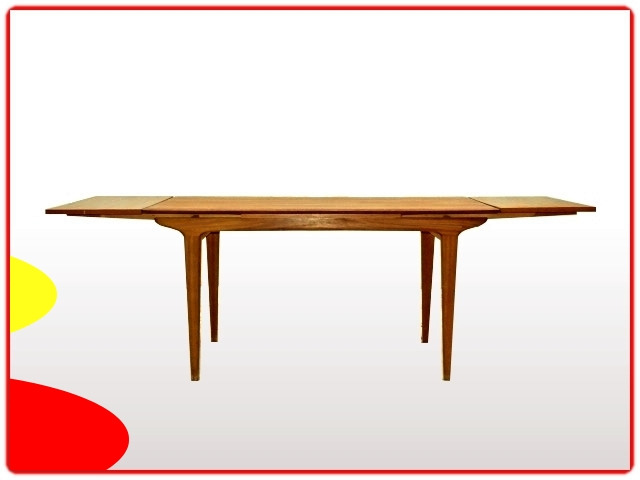 table à manger teck scandinave 1960