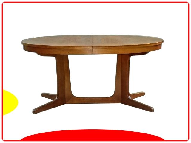 table de repas ovale Baumann extensible