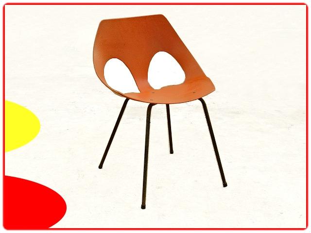 chaise design pour Airborne de Carl Jacobs vintage 1950