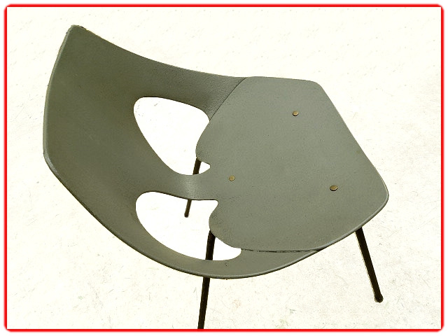 chaise vintage Carl Jacobs 1950 Airborne