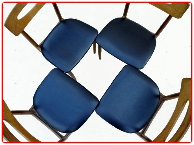 chaises Samcom scandinaves