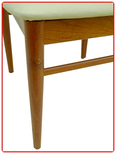 chaises danoises en teck