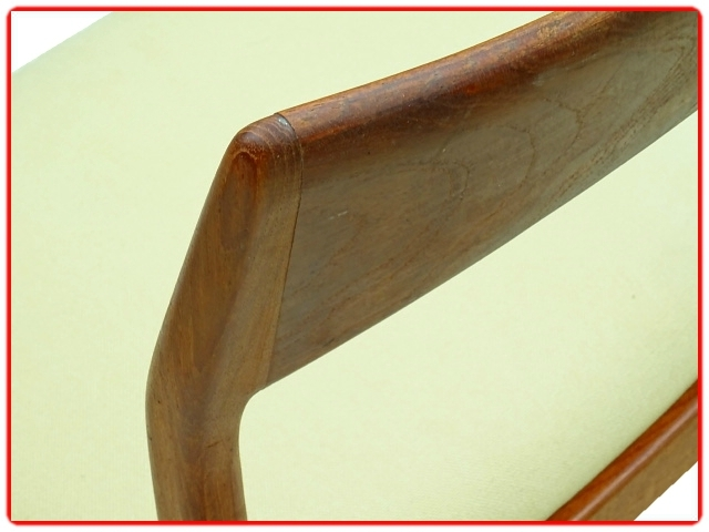 Chaises scandinaves mobelfabrik Henning Kjaernulf teck