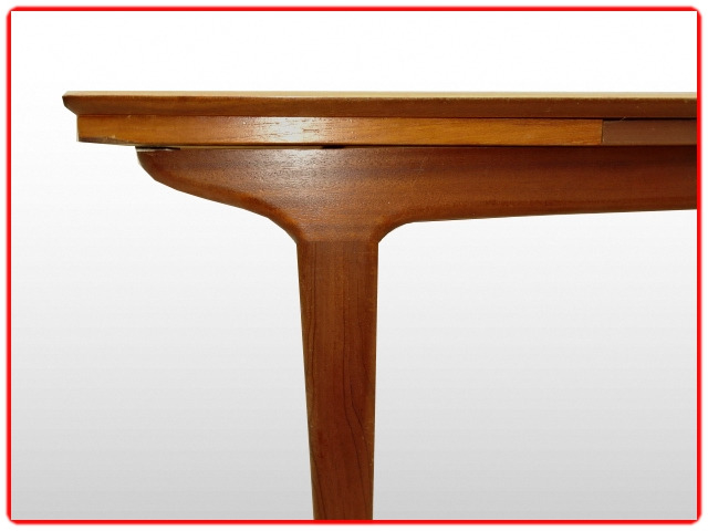 Table LB scandinave vintage 1960 teck