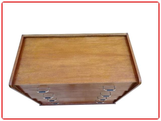 commode vintage en bois