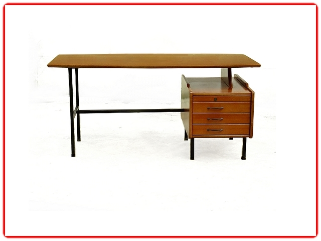 bureau moderniste J. Hauville double face