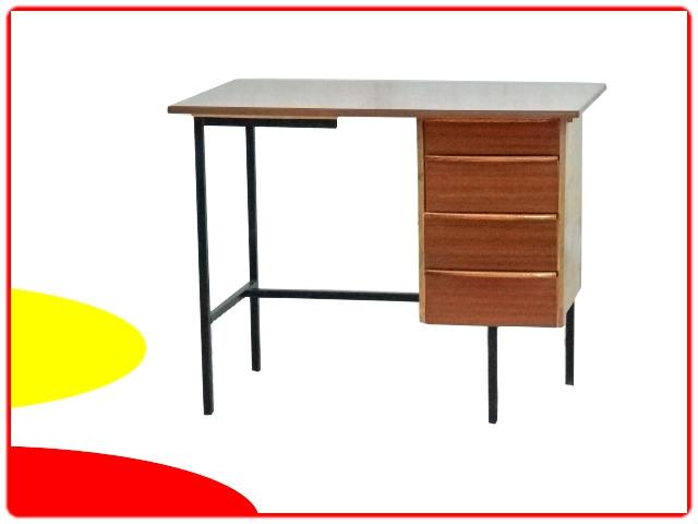 Bureau moderniste formica vintage 1960