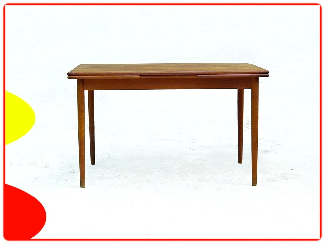 table danoise Verner Pedersen en teck scandinave 1950