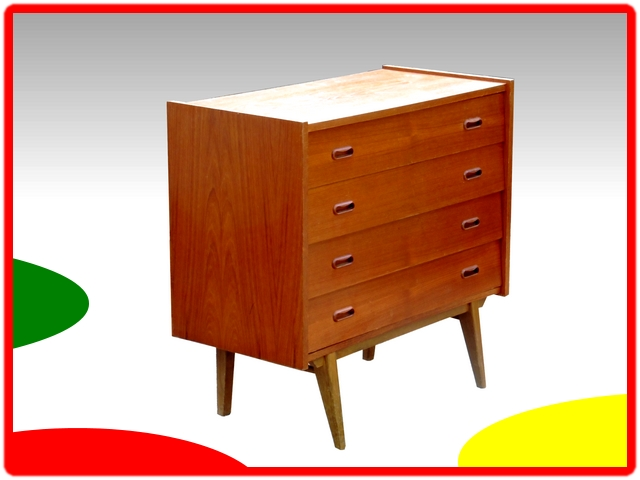 commode scandinave 1950
