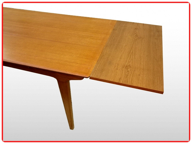 Table scandinave vintage LB teck 1960