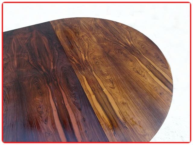 Table en palissandre Jorge Zalszupin scandinave