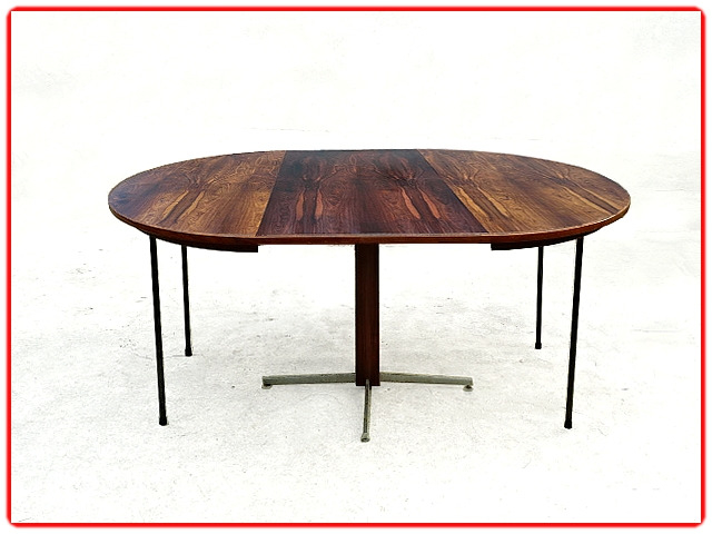 Table scandinave en palissandre J. Zalszupin