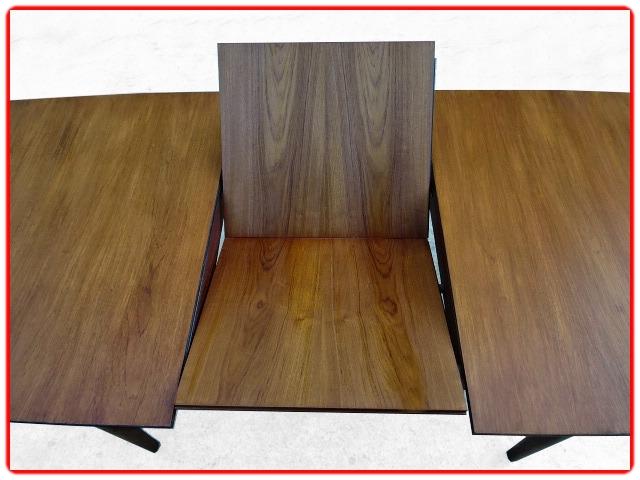 Table McIntosh teck rallonge intégrée