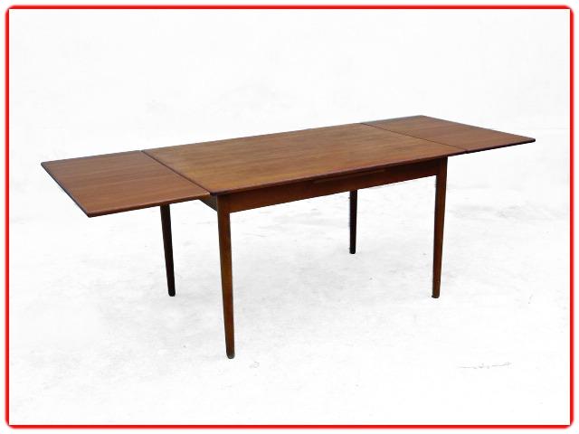 Table à manger par V. Pedersen teck danois1950