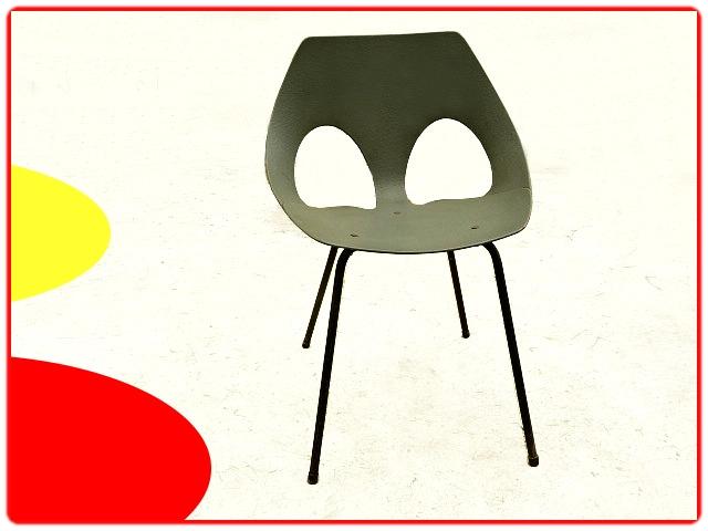chaise design par Carl Jacobs des années 1950 pour Airborne