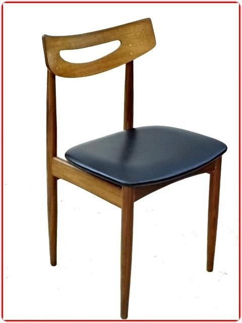 chaise danoise Samcom Mobelfabrik en teck estampillées