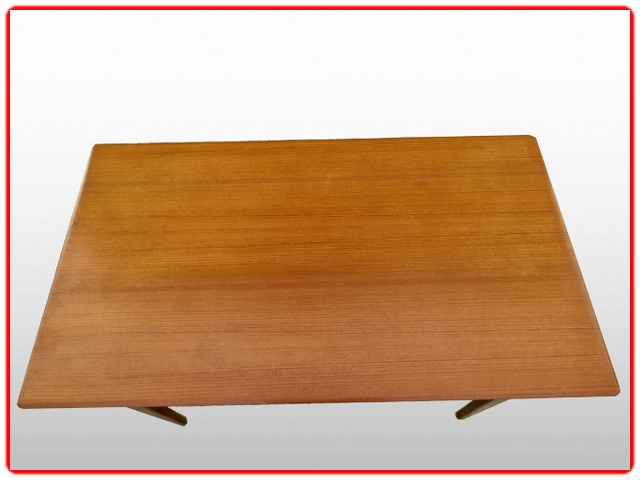 Table extensible LB teck vintage 1960