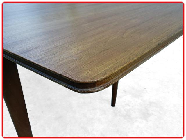 Table à manger Mc Intosh teck vintage scandinave1960