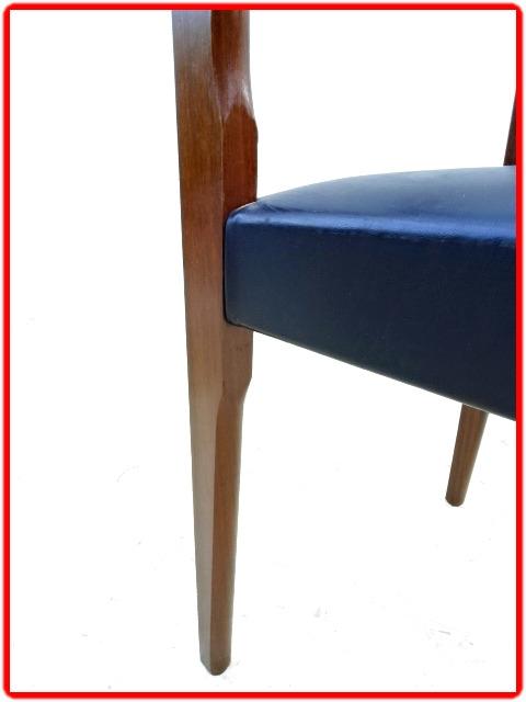 chaises design scandinave palissandre