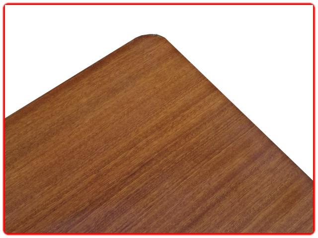 table basse rétro bois et métal
