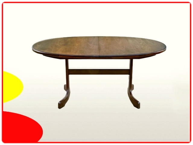 Table ovale extensible G.PLAN