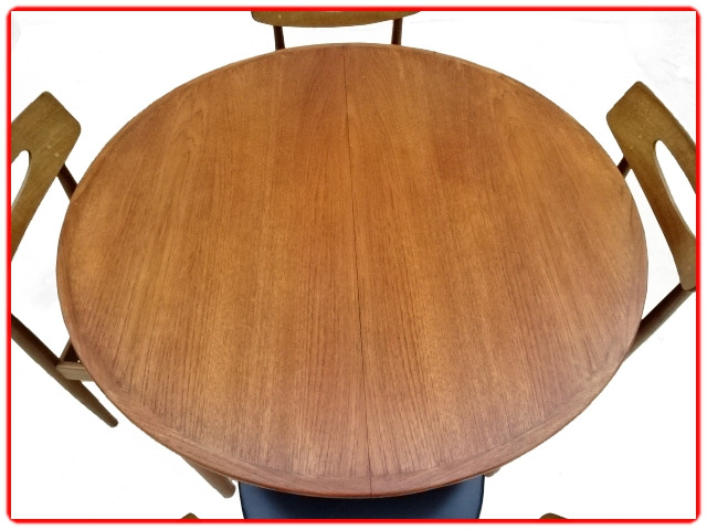 Table danoise H. W. Klein en teck Samcom