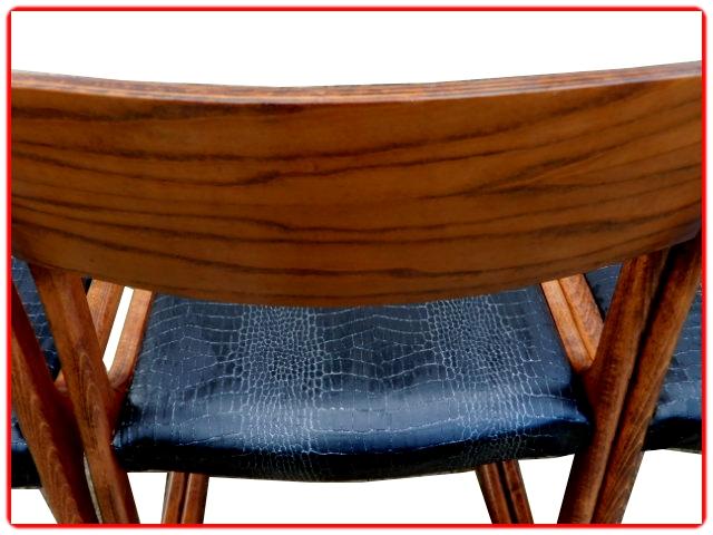 chaises traineau Baumann luges vintage