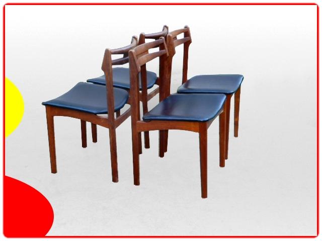 chaises danoises B&N teck 1960