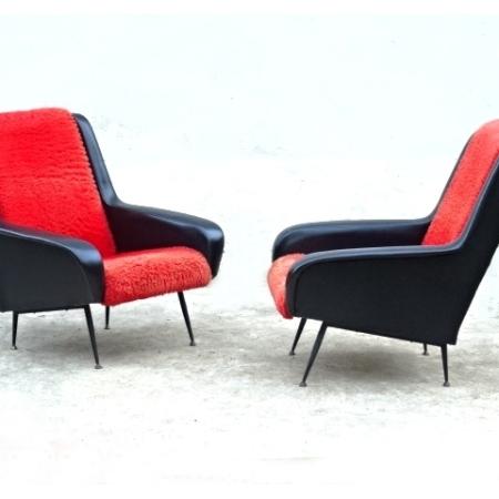 Fauteuils par Erton design vintage 1960