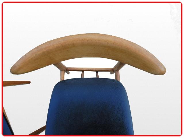 chaises anciennes Thonet vintage 1950