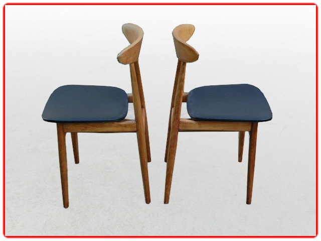 chaises Thonet vintage 1950