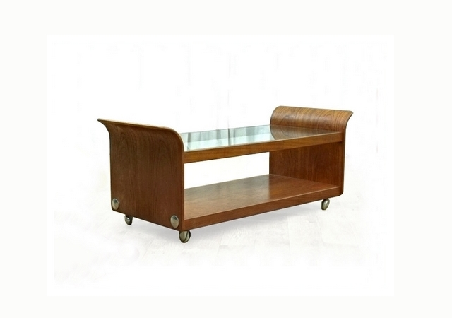 Table basse G-Plan Tulip Wilkins teck