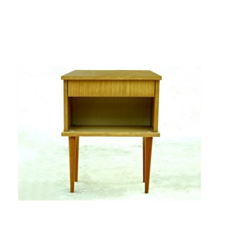 Table de chevet vintage 1970