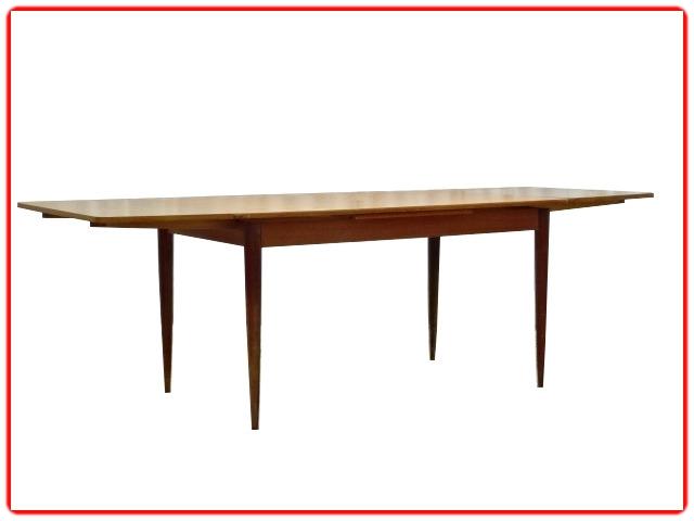 Table à manger extensible teck 1960 vintage