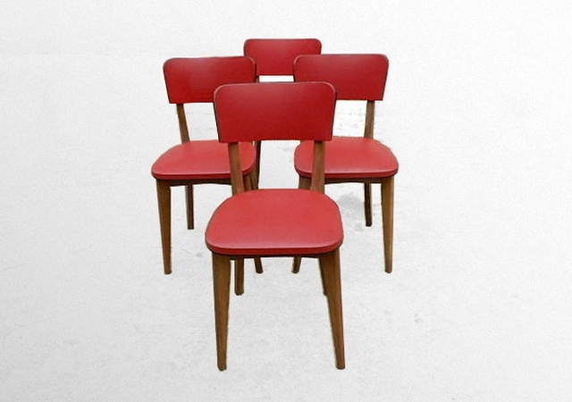 Chaises vintage 1960
