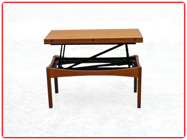 Table Albert Ducrot modulable vintage