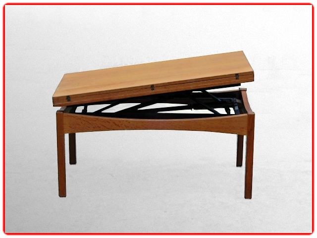 Table Albert Ducrot portefeuilles vintage 1950