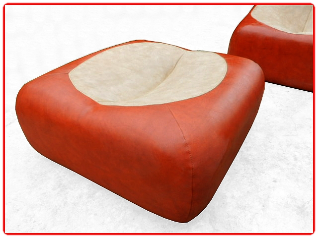 Canapé d'angle modulable 1970