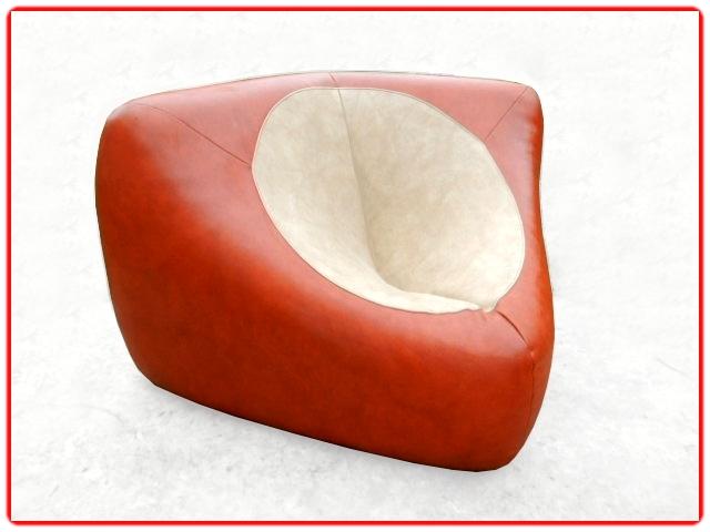 Canapé d'angle modulable rétro 1970