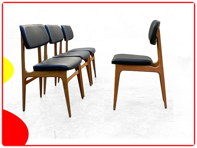 4 chaises Stella vintage